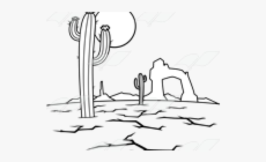 Desert Clipart Desert Scene.