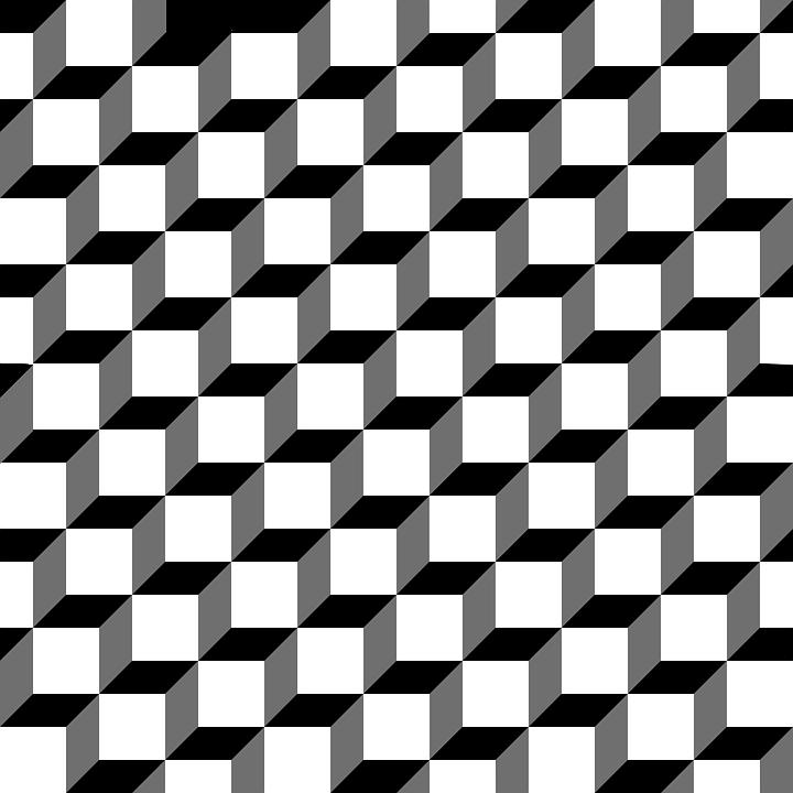 Pattern Cube 3D.