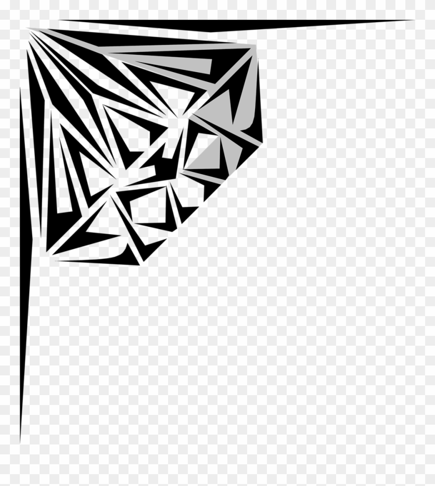 Clip Art Black And White Diamond Clipart Kid.