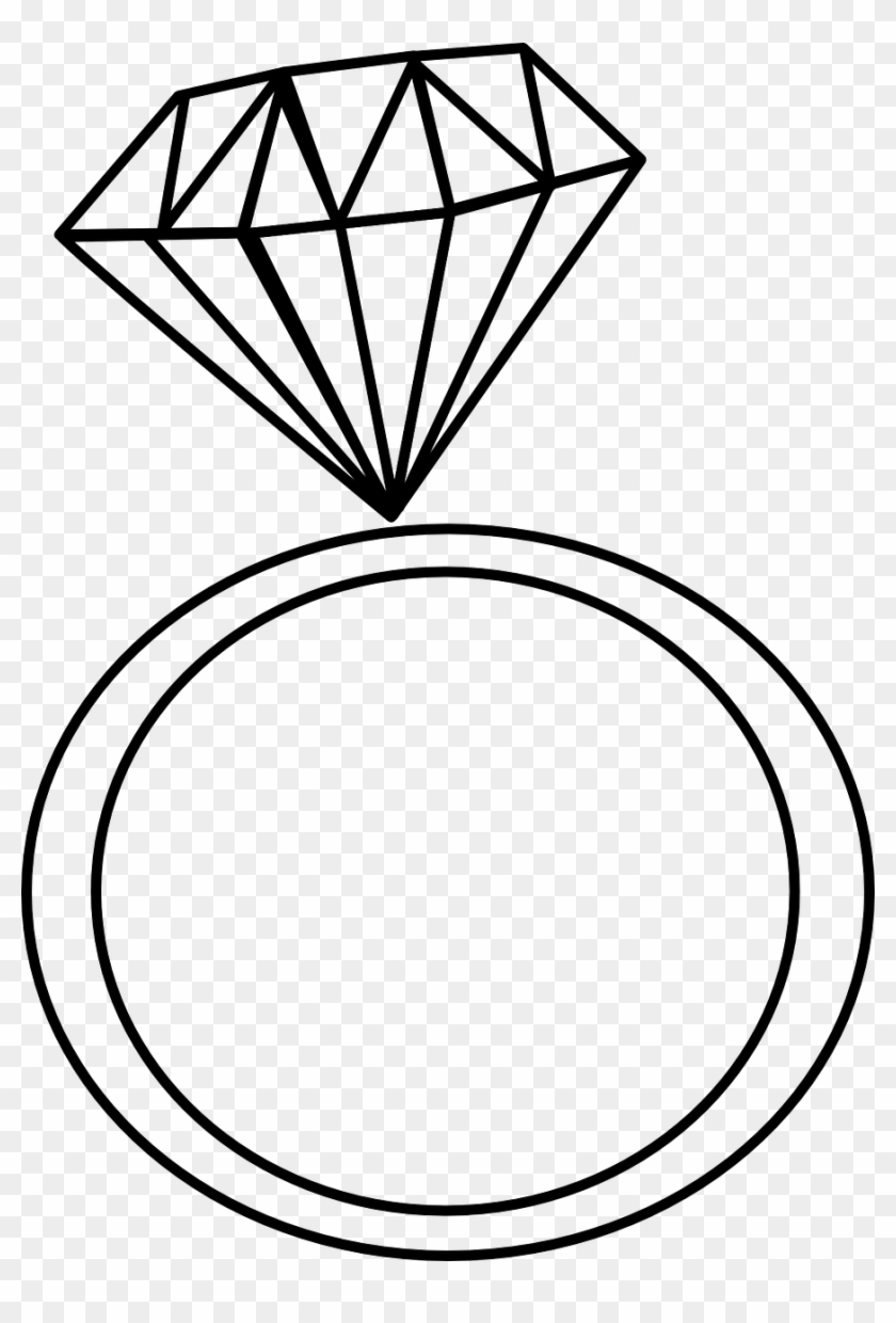 Diamond Clip Ring Jewel Png Image.