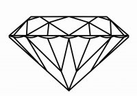Diamond Ring Clipart Black And White #108905.