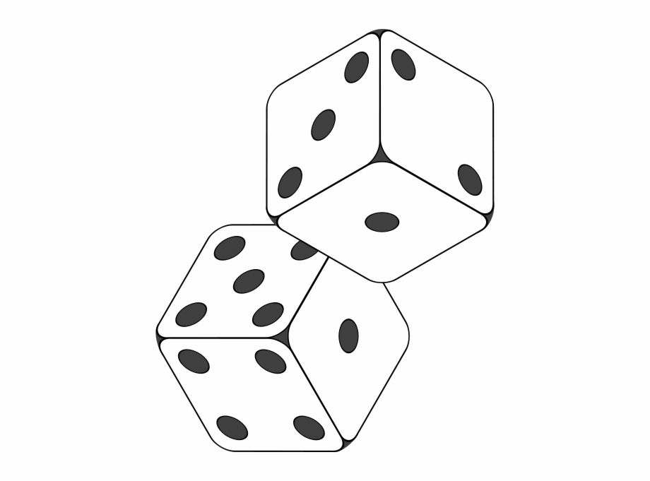 Dice Drawing Black And White Free PNG Images & Clipart Download.