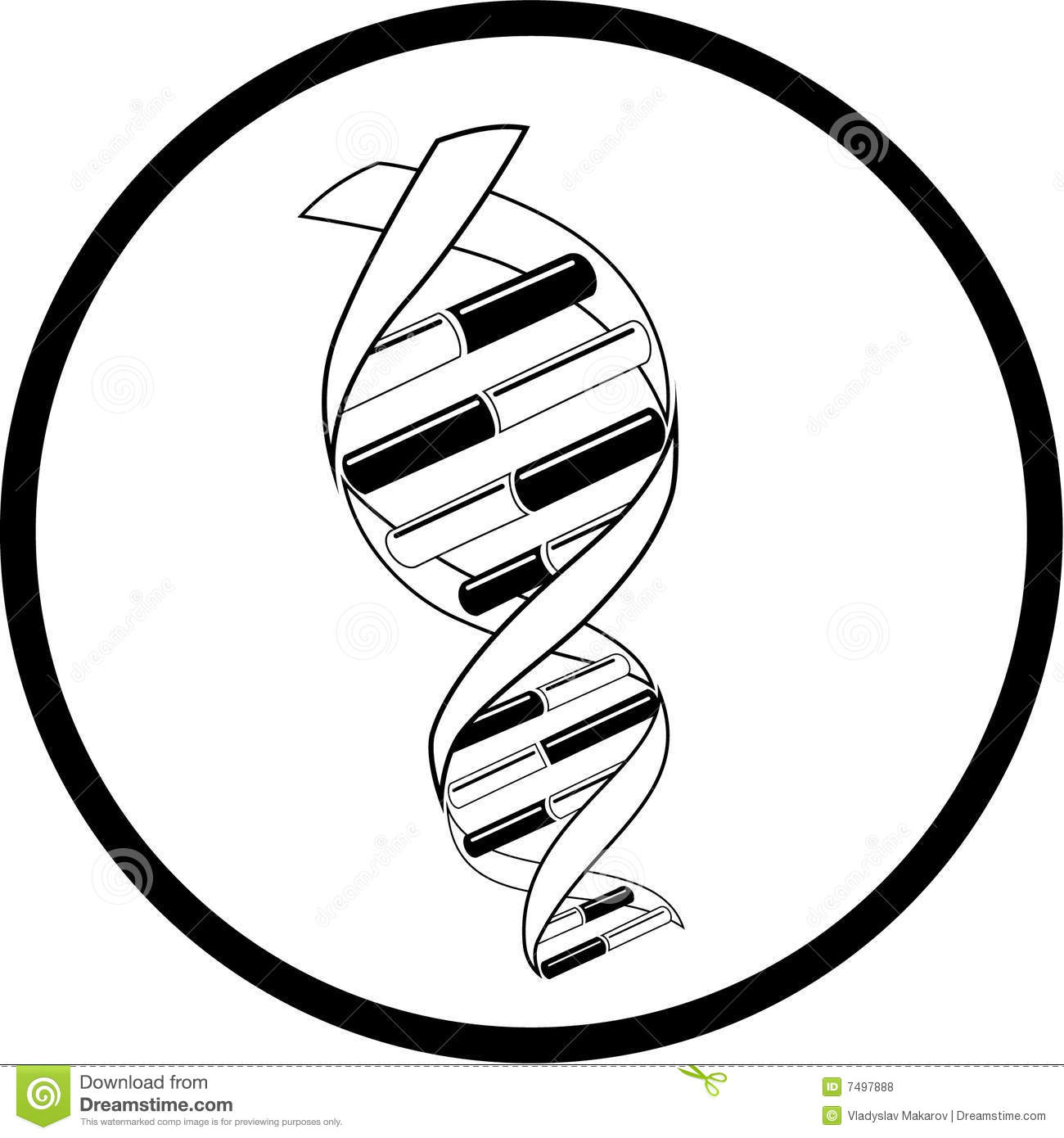 1050 Dna free clipart.