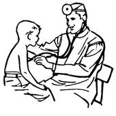 Doctor Clipart Black And White.