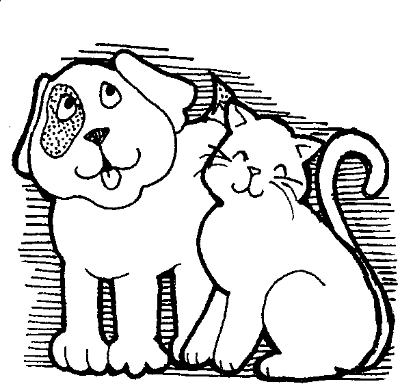 Free Black And White Dog And Cat Pictures, Download Free.