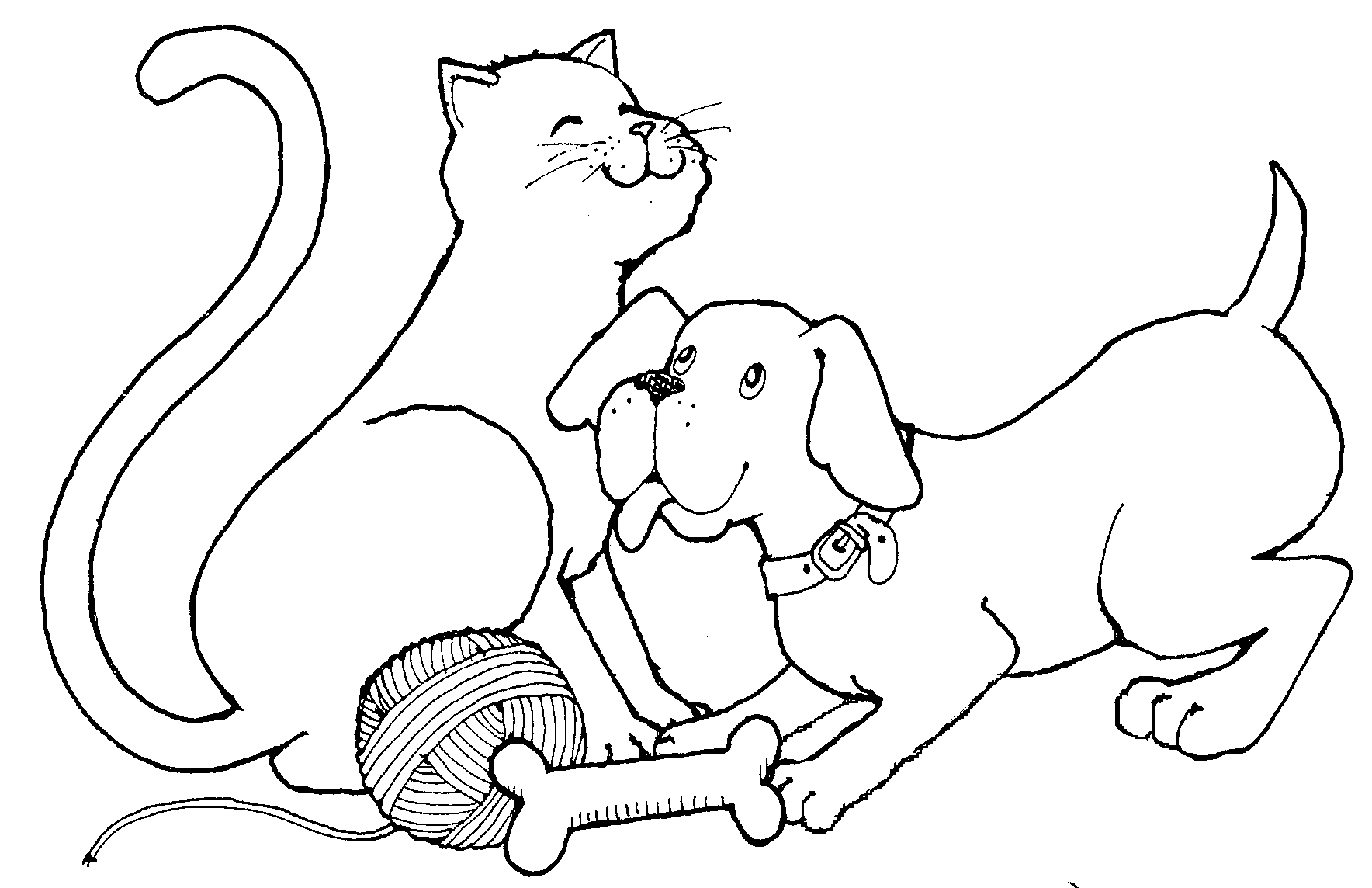 Free Cat Black And White Clipart, Download Free Clip Art.