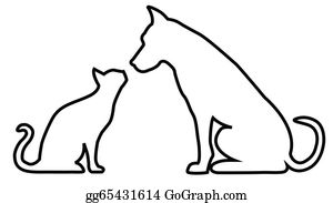 Cat And Dog Clip Art.