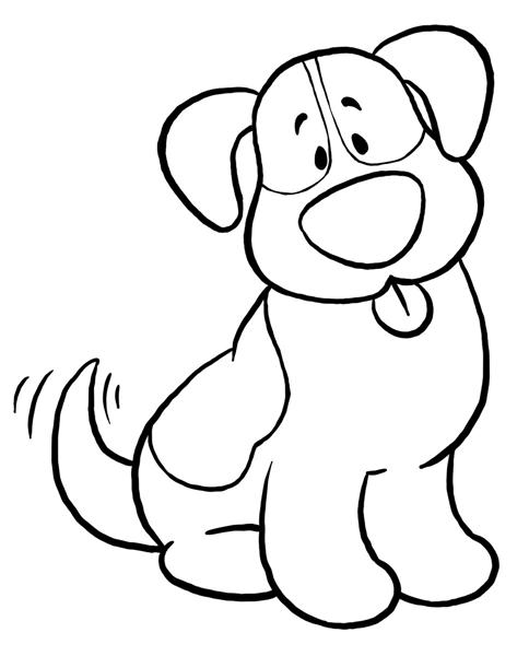 Free Black And White Dog Clipart, Download Free Clip Art.