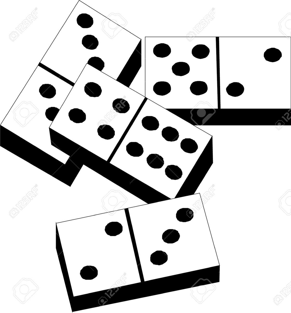 80 Hand Picked How To Draw Dominoes.
