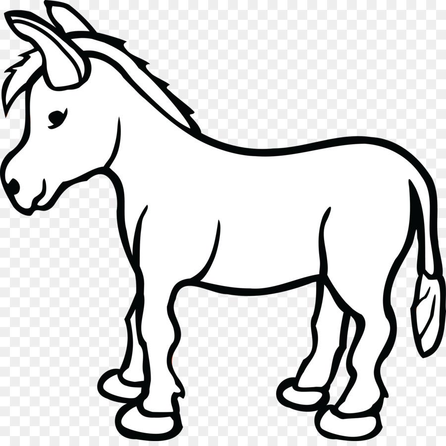 Donkey Cartoon png download.
