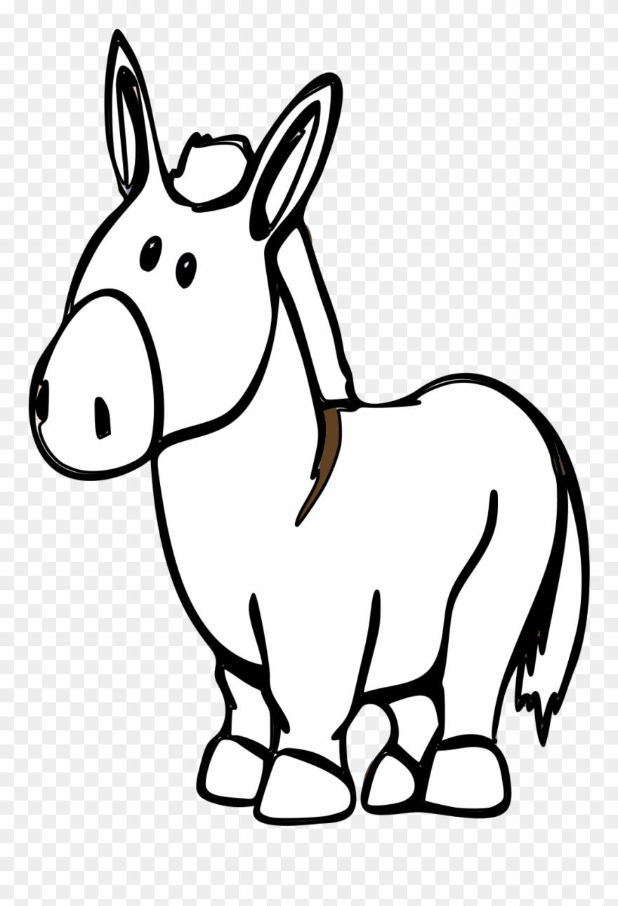 Donkey Cartoon.