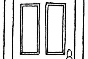 Black and white door clipart 4 » Clipart Portal.