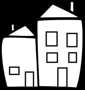 Dorm Building Clipart.