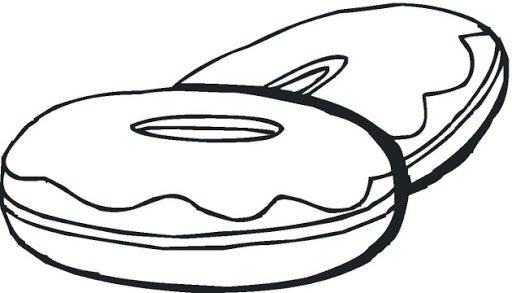 Free Donut Clipart Black And White, Download Free Clip Art.