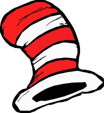Dr Seuss Clip Art Black And White.