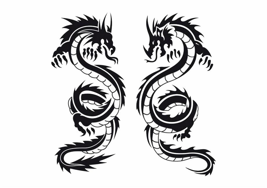 Dragon Tattoos.
