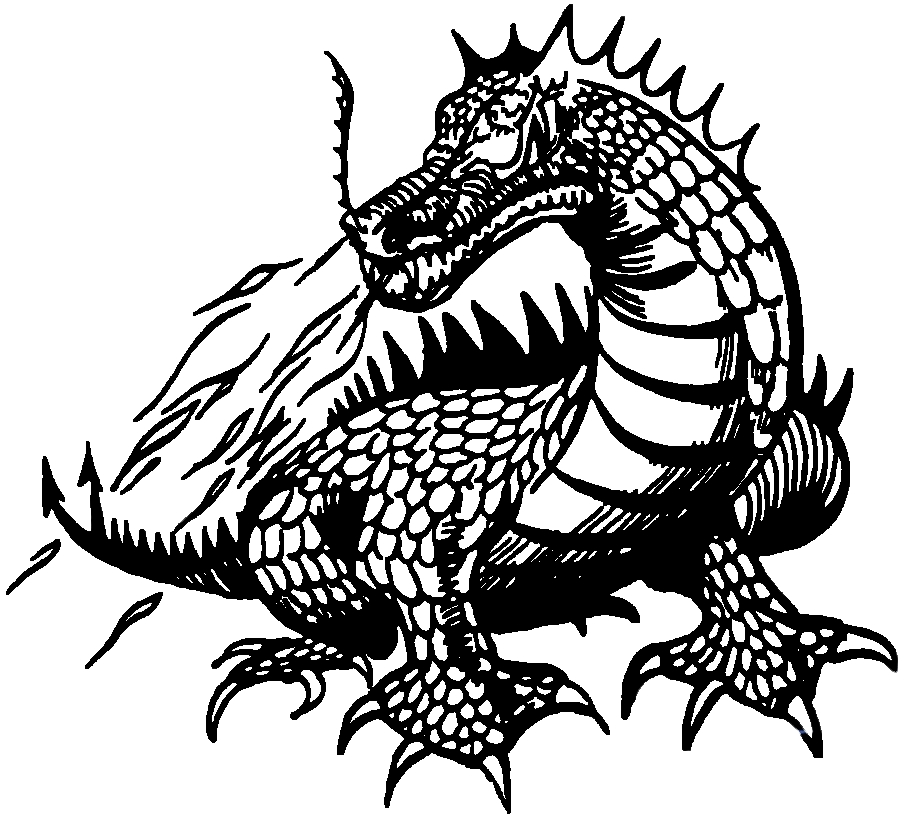 Free Black And White Dragon Images, Download Free Clip Art, Free.