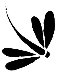 Dragonfly silhouette clip art. Download free versions of the image.