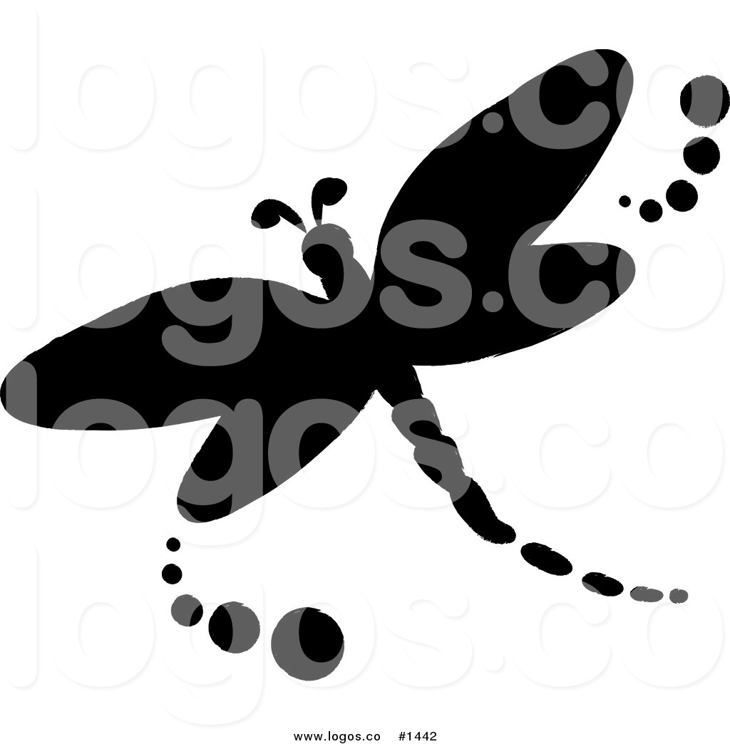 Dragonfly Silhouette Clipart#2163916.