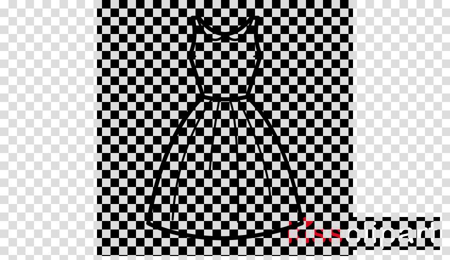 white clothing black dress line art clipart.