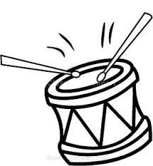 Image result for drum clipart black and white.