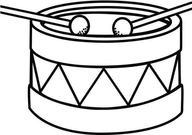 Drum Clipart Draw.