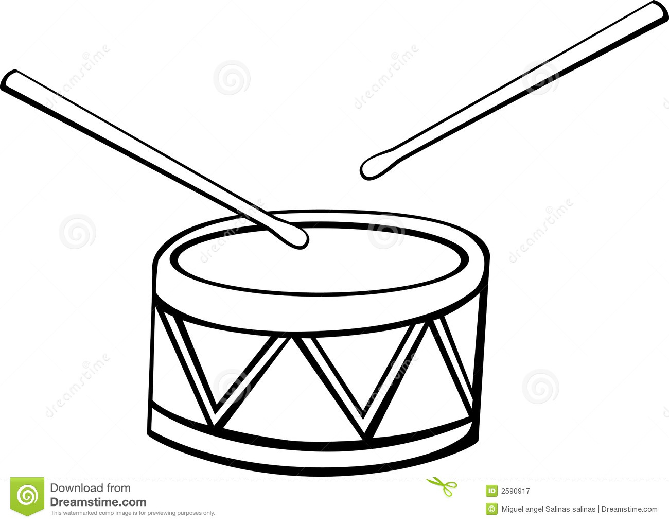Drums clipart black and white 1 » Clipart Station.
