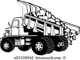 930 Dump Truck free clipart.