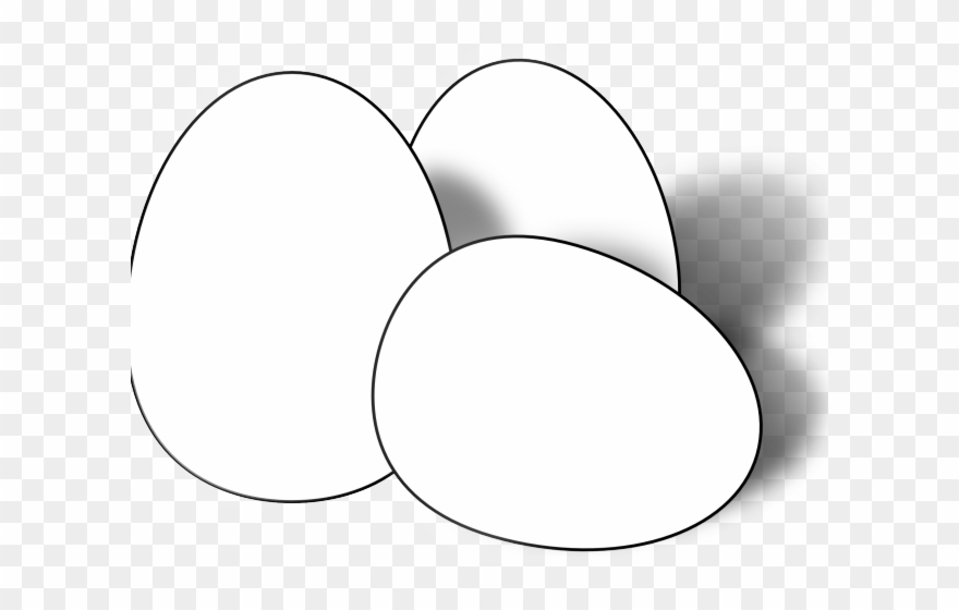 Egg Clipart Outline.