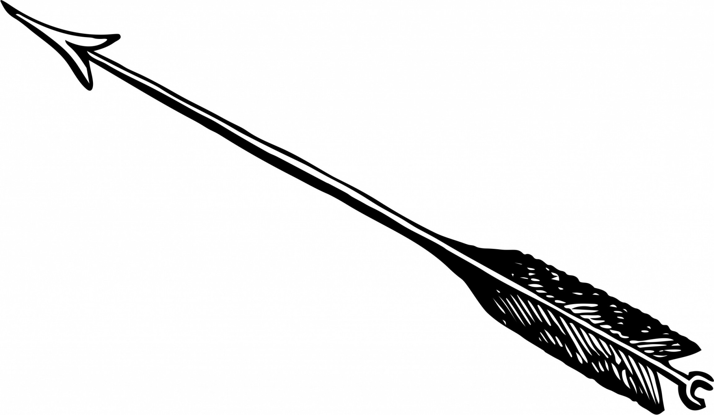 Arrow clipart black and white Elegant Arrow Clipart Black.