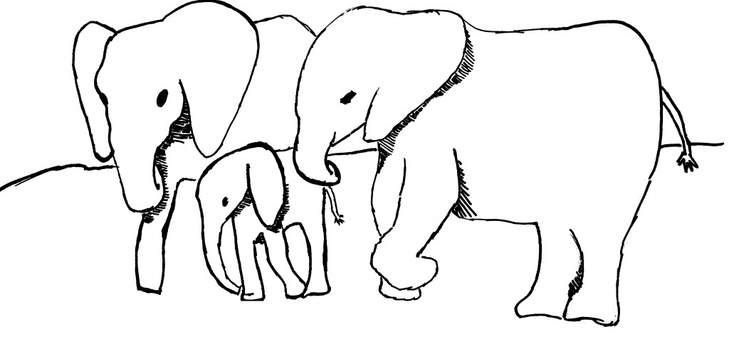 Elephant black and white elephants image free download clip art on.