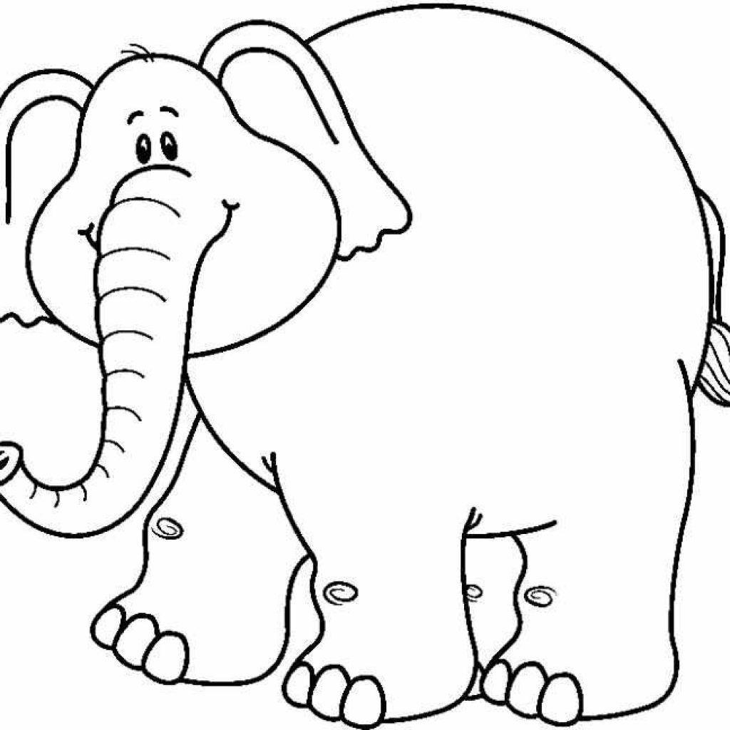 Elephant Clipart Black And White Clip Art 700648 1024x1024.