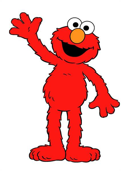 1288 Elmo free clipart.