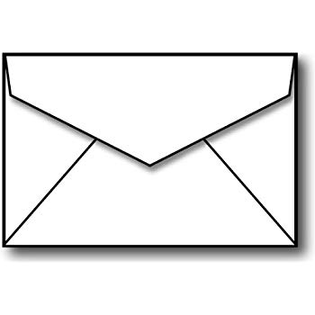 black and white envelope clipart 10 free Cliparts ...