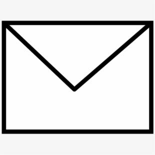 Envelope Clip Art Black And White Free , Transparent Cartoon.