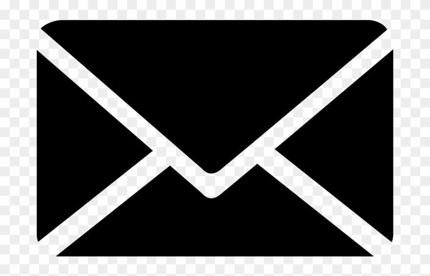 Envelope Clip Art Black And White Download.