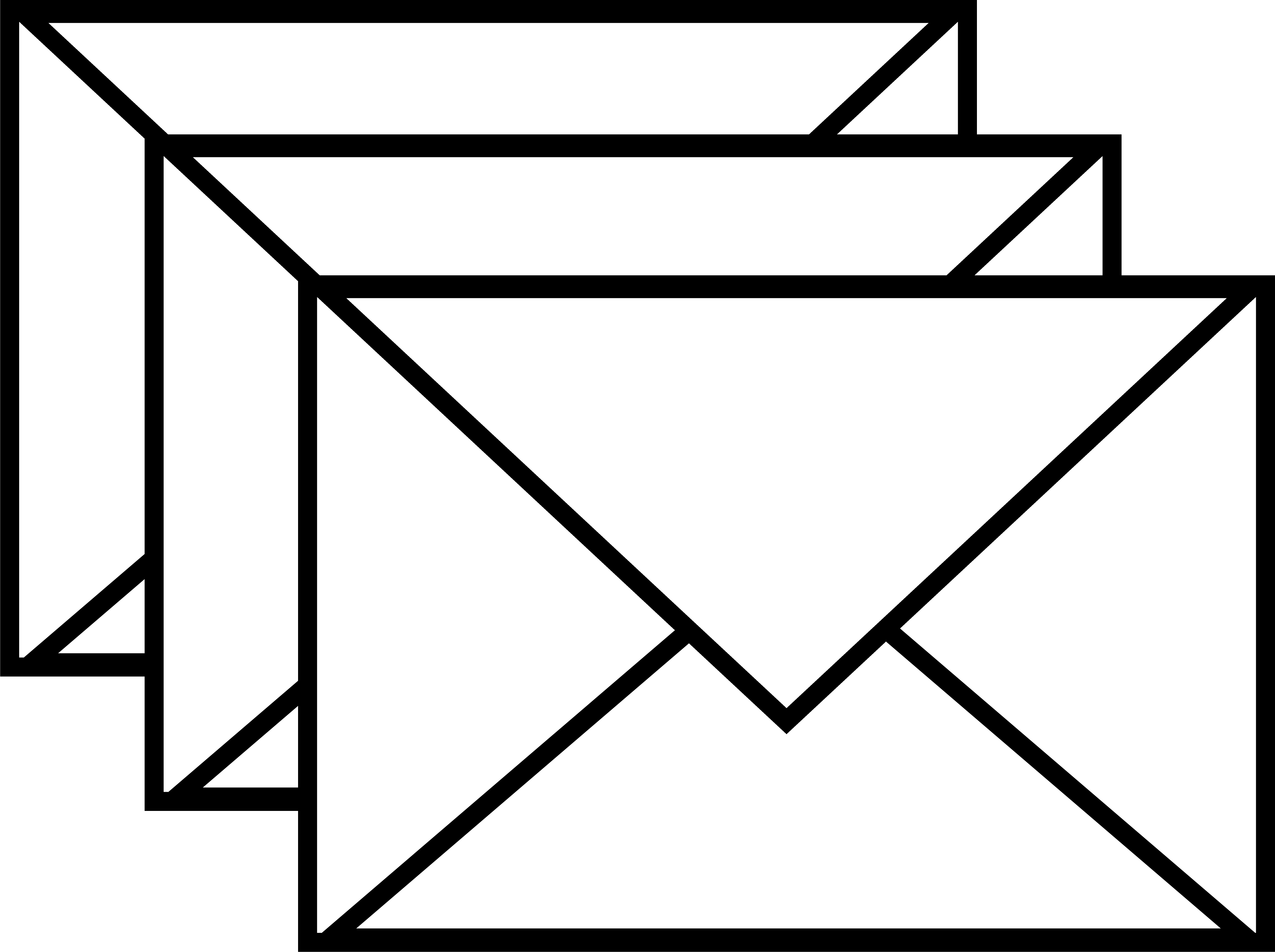 Envelope Clipart Black And White.