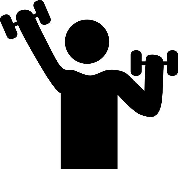 Free Exercise Black And White, Download Free Clip Art, Free.