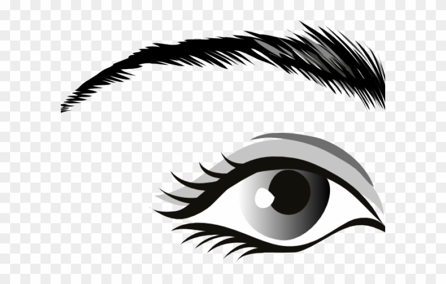 Eye Clipart Black And White.