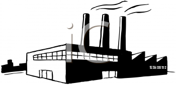Factory clipart black and white » Clipart Station.