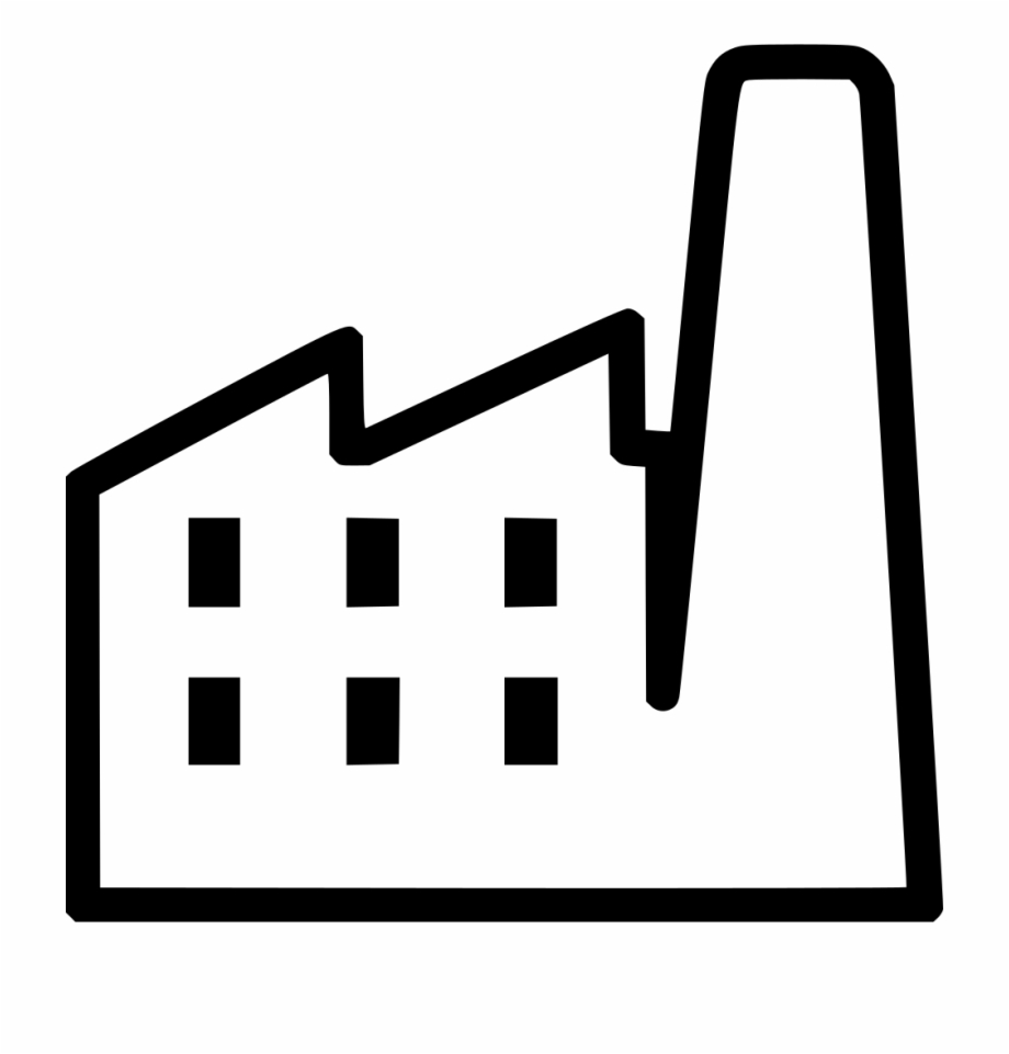 Factory Comments White Factory Icon Png.