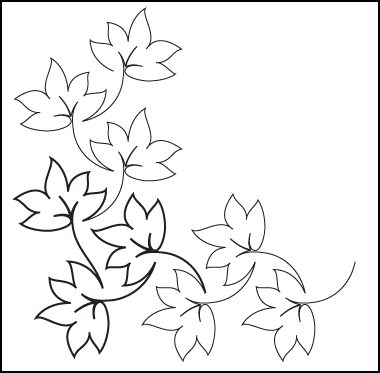 Fall Leaves Clip Art Black And White.