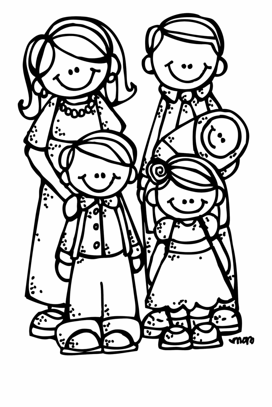 Free School Coloring Clipart Image 0 Family.