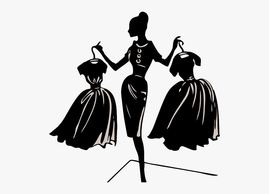 Fashion Designer Clipart Black And White.