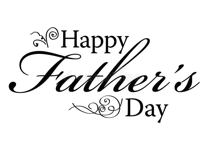 Happy fathers day clipart black and white 1 » Clipart Station.