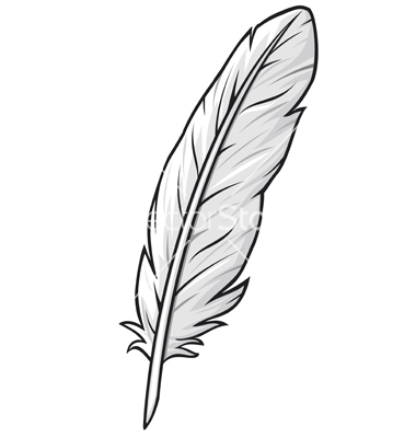 Free Feathers Clipart Black And White, Download Free Clip.