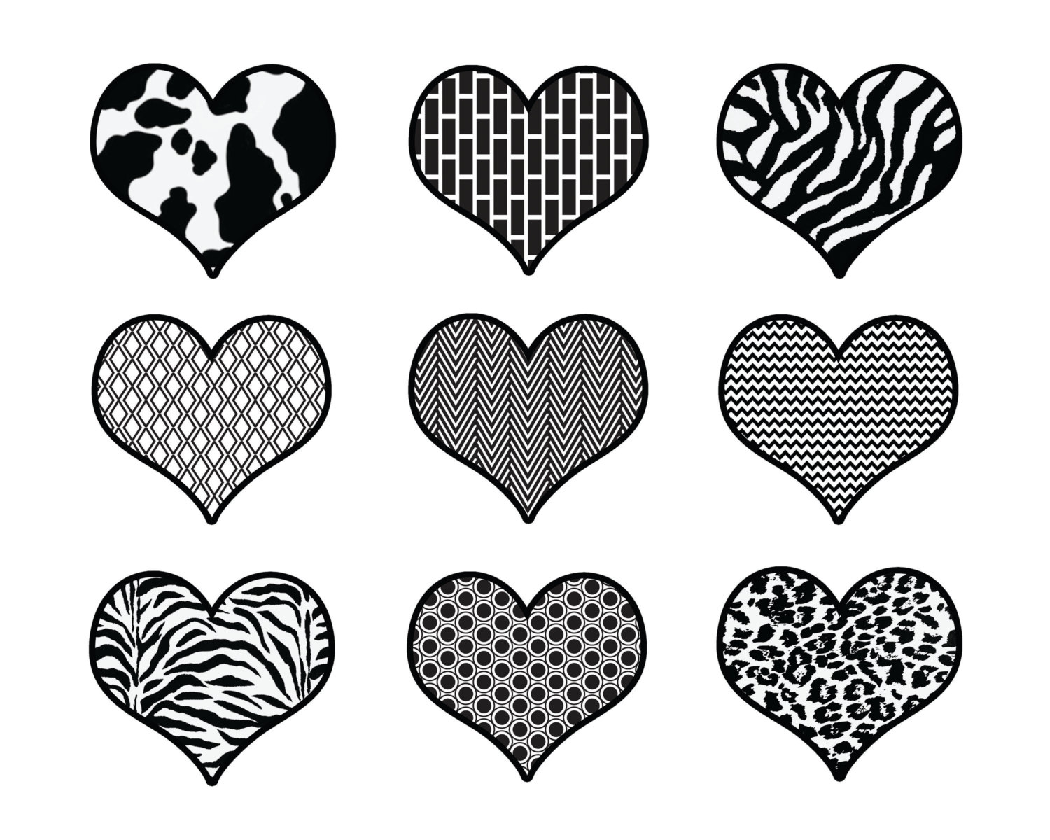 February black and white clip art february black and white 5.