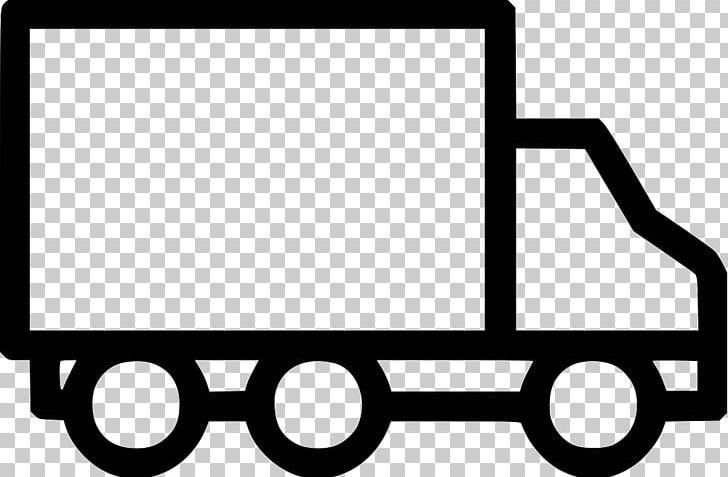 Van Delivery Car FedEx Transport PNG, Clipart, Area, Black.