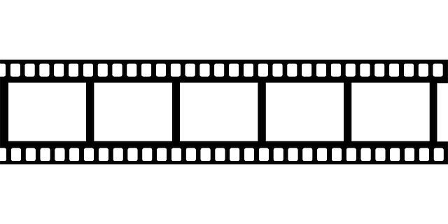 Movie Border Clipart Black And White