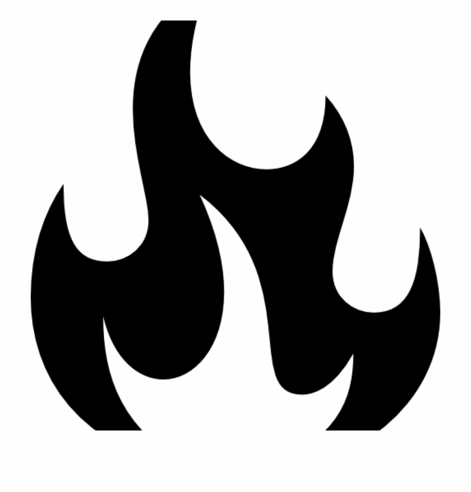 Fire Clipart Black And White Fire Clip Art At Clker.